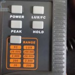 Tombol Panel Lux Meter LX1330B